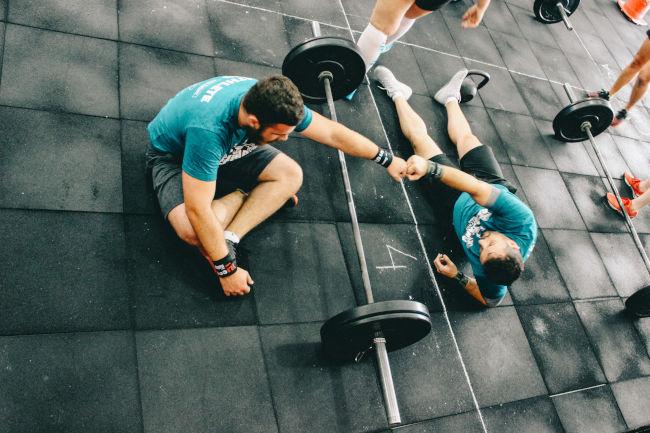 deportes y ejercicio hombres